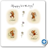 Horace dances for your birthday