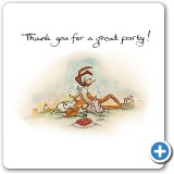 thank you for a great party!